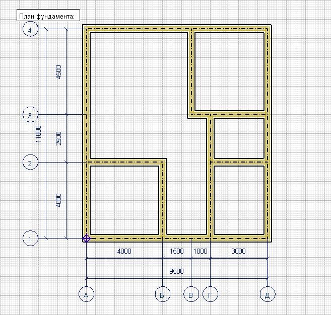 Проекты и чертежи фундаментов частных домов