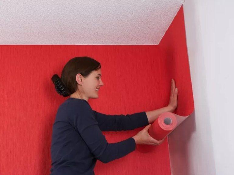 5 оригинальных способов наклеить обои: долой скучный интерьер