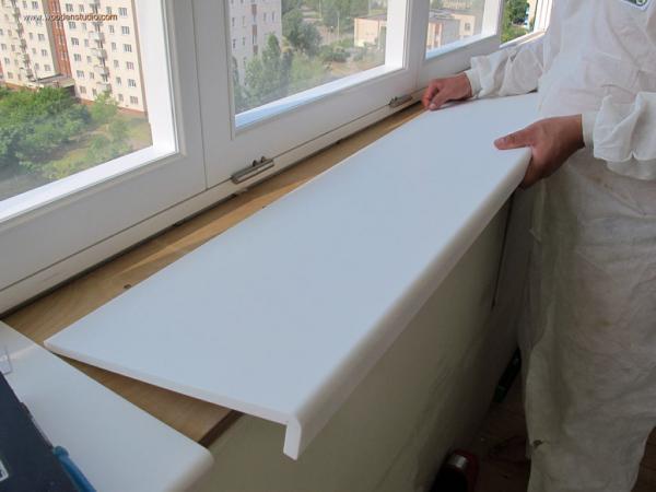 Как красят пластиковые подоконники в домашних условиях