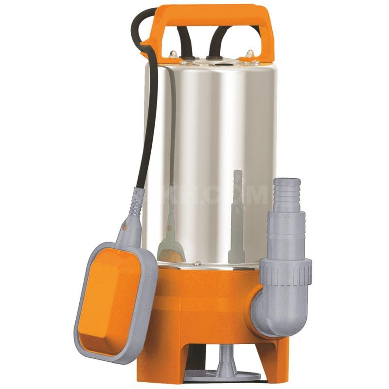 Из чего состоит и как работает дренажный насос для грязной воды