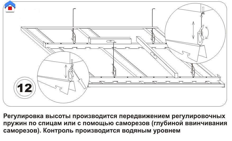Как сделать реечный потолок своими руками