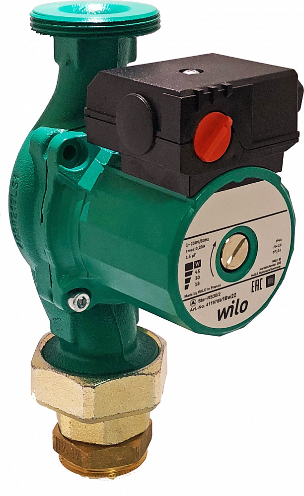 Эксплуатация циркуляционных насосов для отопления Wilo