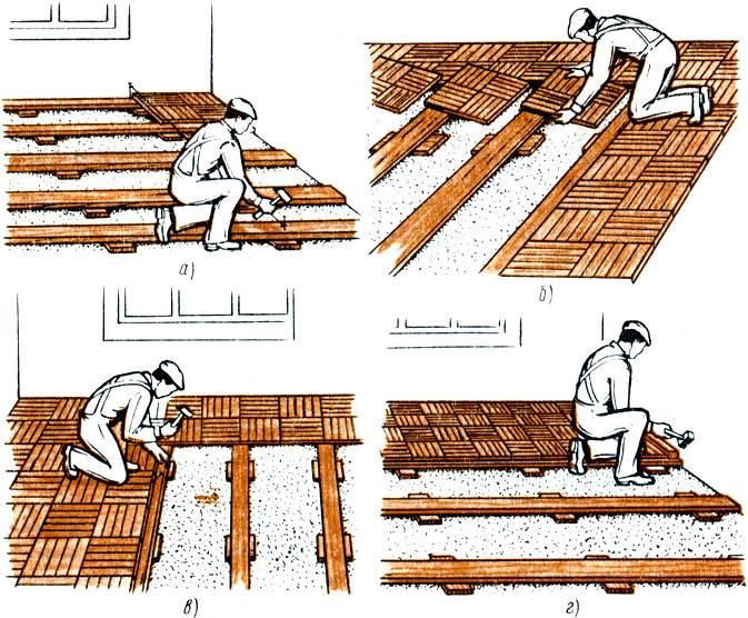 Настил деревянного пола своими руками: конструкции настилов деревянных полов, делаем самостоятельный монтаж
