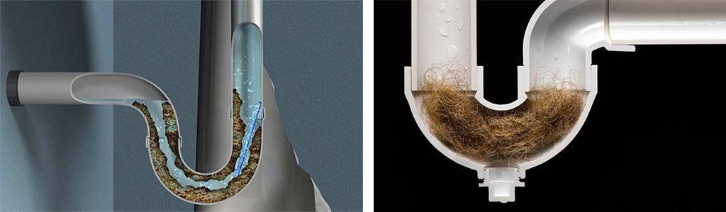 Как прочистить засор в канализационной трубе в домашних условиях