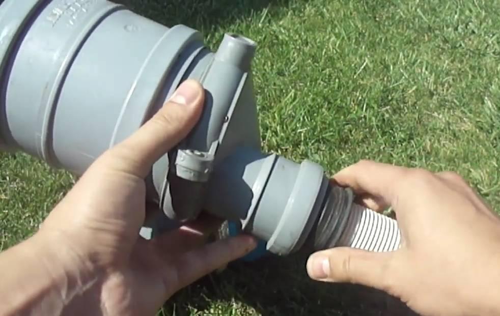 Изготовление скиммера для бассейна своими руками