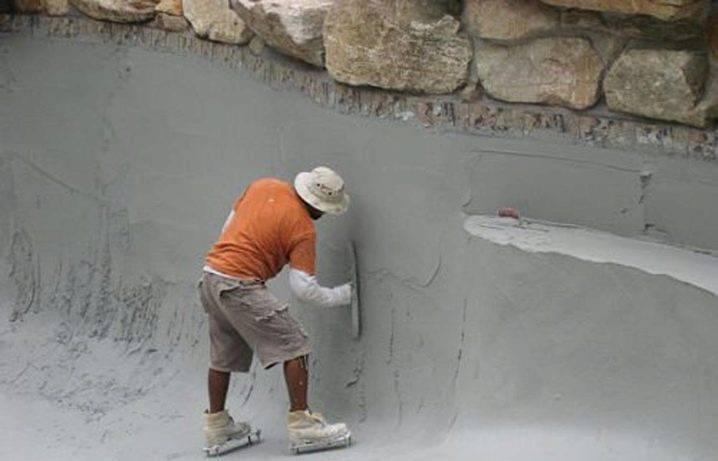 Как самостоятельно оштукатурить бассейн: пошаговая инструкция