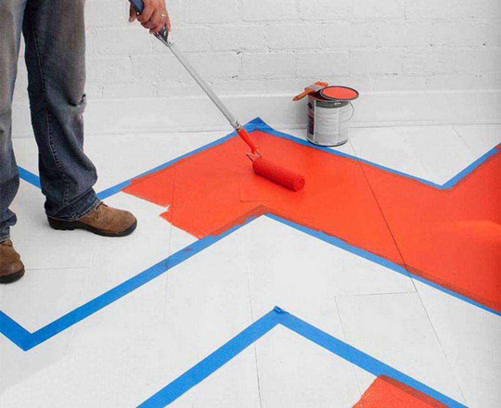 Как покрасить плитку на полу своими руками
