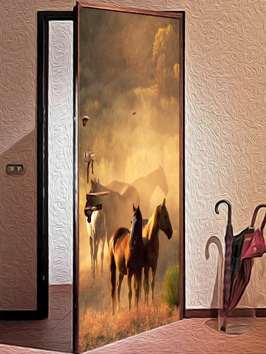 Старые двери как новые!