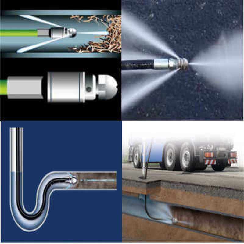 Гидродинамический способ очистки труб от жира