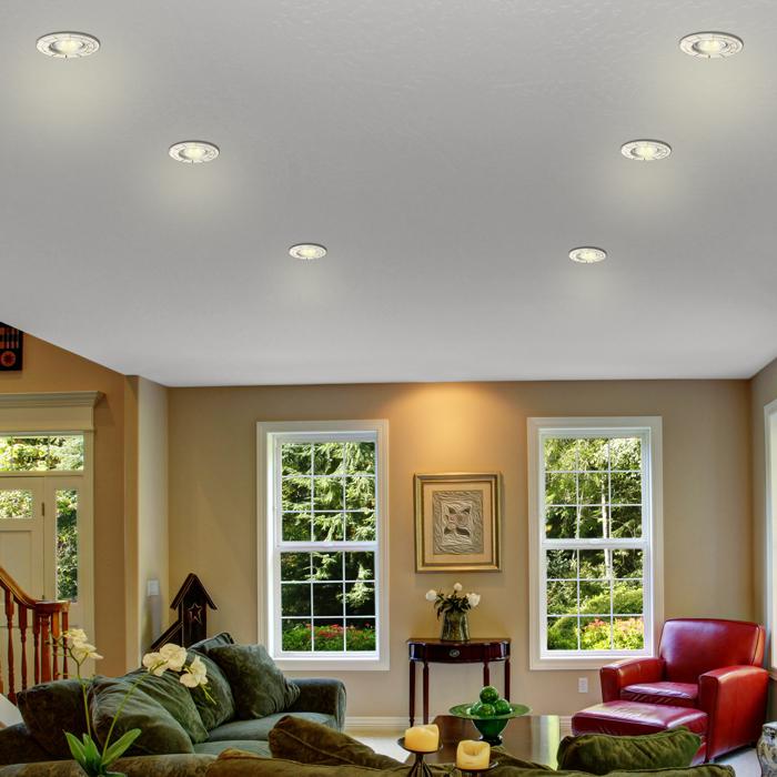 Идеи и варианты освещения для натяжных потолков для разных комнат
