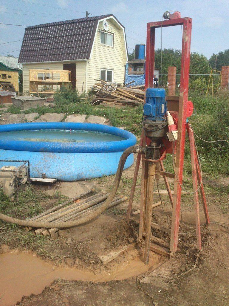 Как сделать скважину на воду своими руками