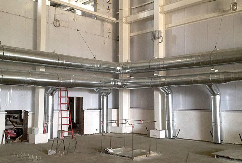 Промышленные вентиляционные системы и установки