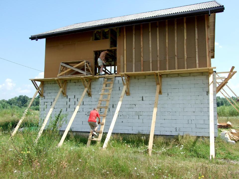 Как сделать строительные леса