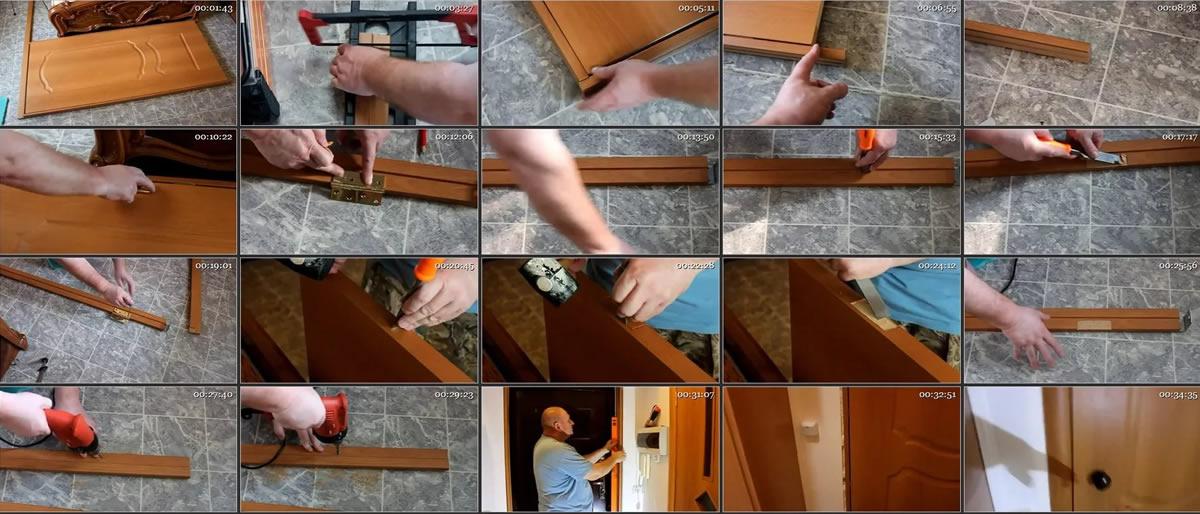 Инструкция установки дверной коробки своими руками