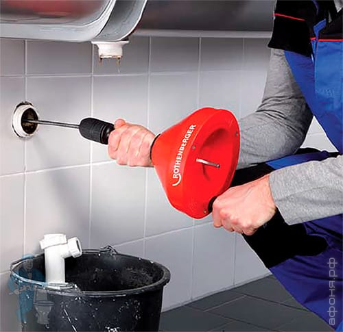 Механические способы очистки канализационных труб от жира