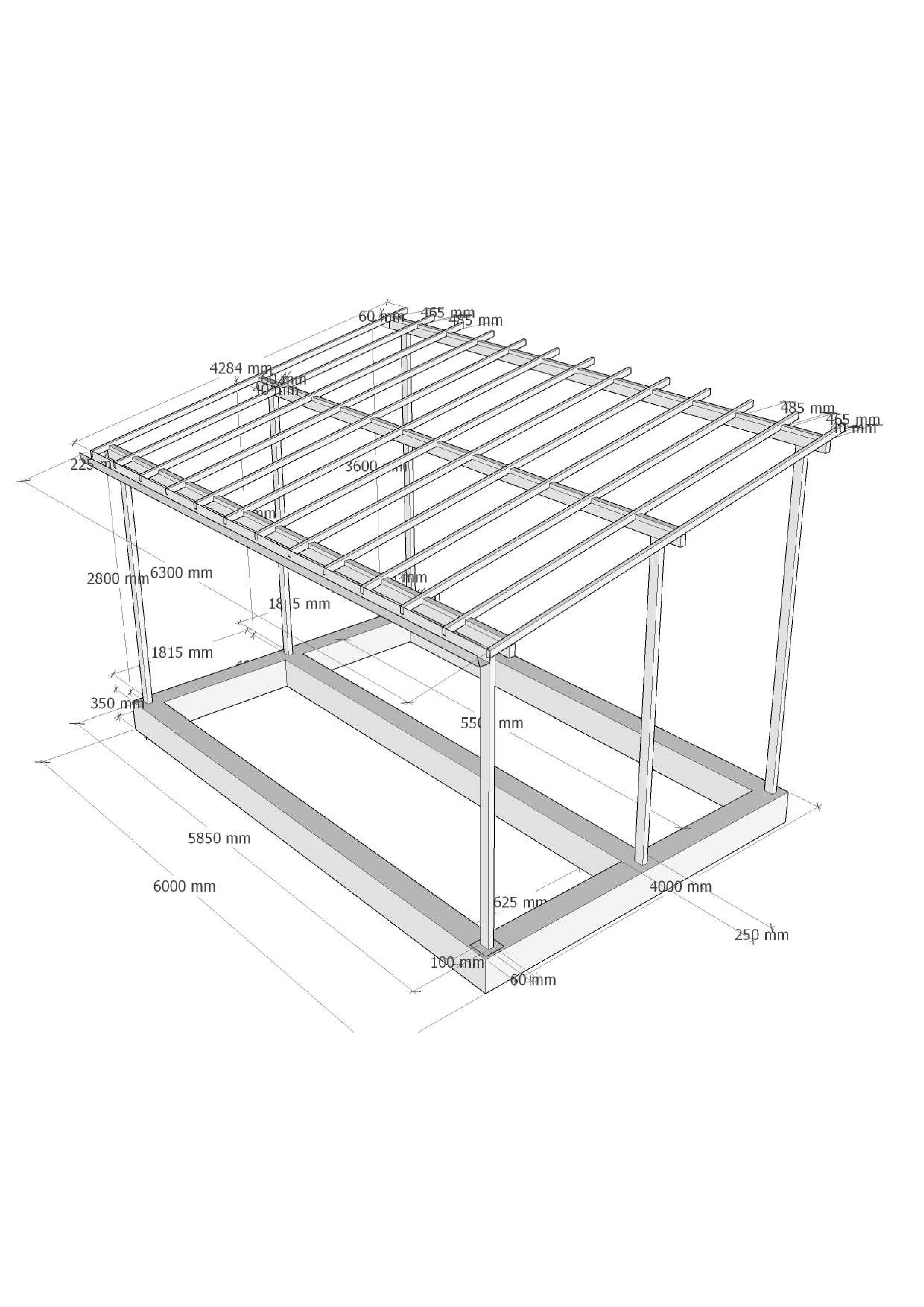 Самостоятельное строительство каркасного гаража из металлопрофиля