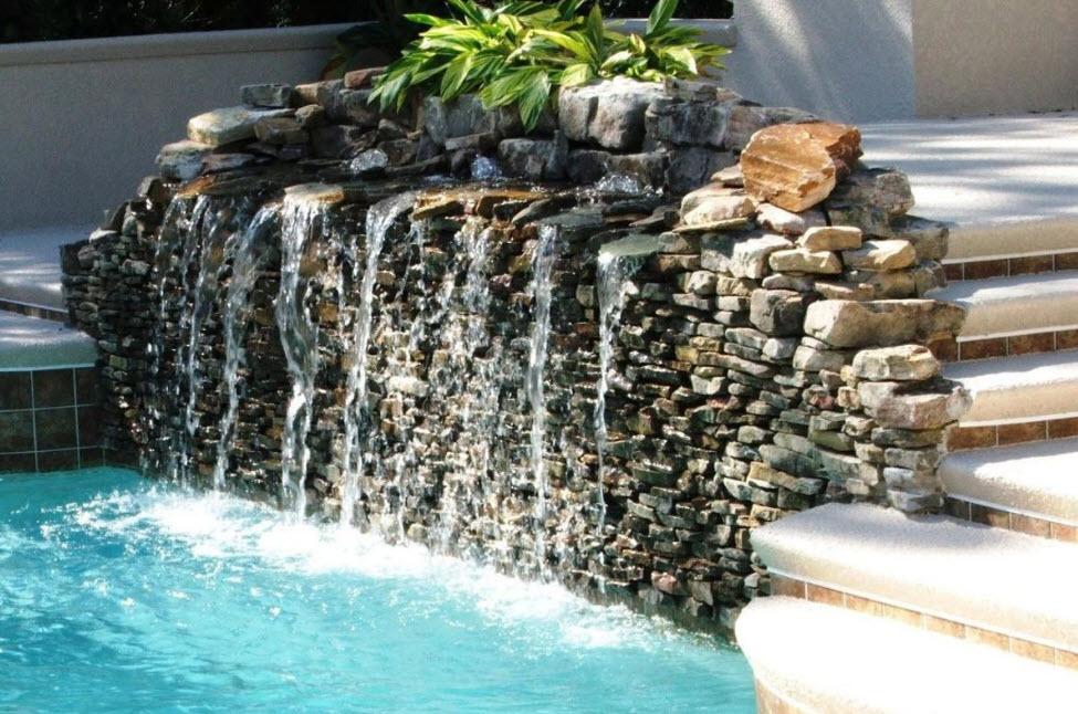 Как сделать самостоятельно водопад в домашних условиях