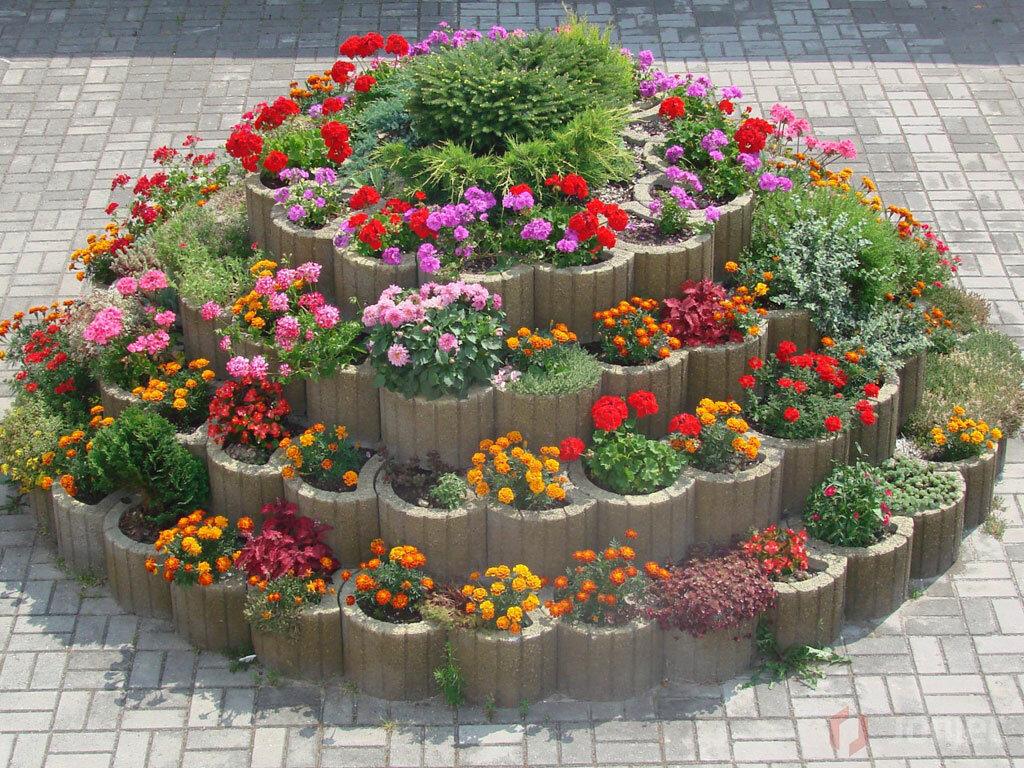 Как сделать клумбу или цветник