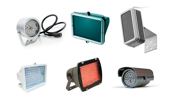 Инфракрасное освещение для камер видеонаблюдения