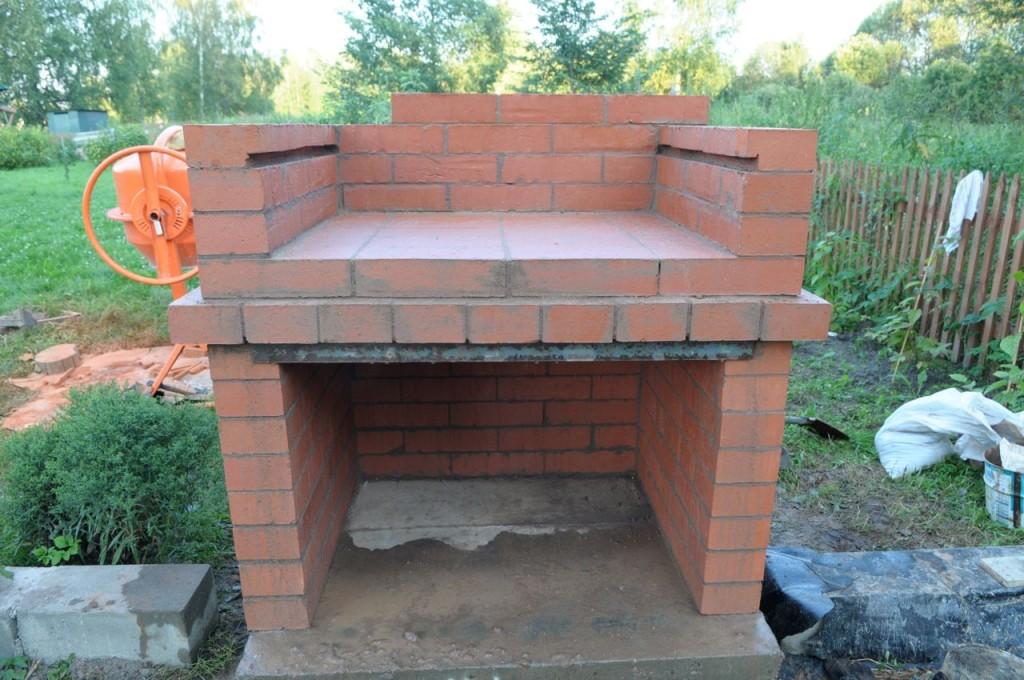 Барбекю своими руками: делаем барбекю из кирпича или металла, пошаговая инструкция с фото
