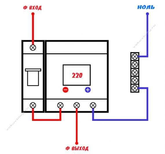 Как выбрать реле напряжения 220В для частного дома и квартиры
