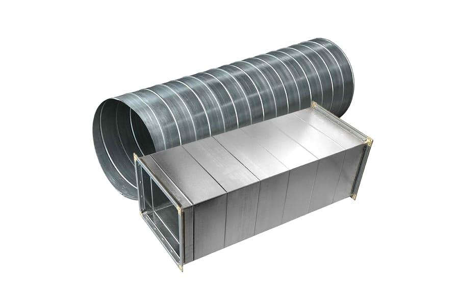 Изготовление и производство вентиляционных труб из оцинкованной стали