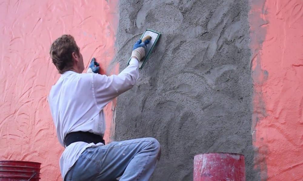 Декоративная штукатурка стен своими руками: пошаговая отделка стен декоративной штукатуркой