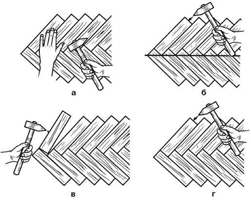 Как правильно класть паркетную доску своими руками