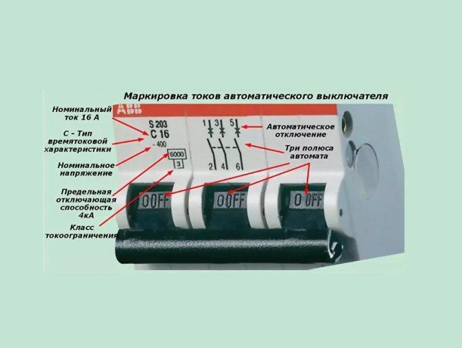 Технические характеристики и принцип действия электрических автоматов