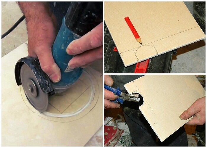 Как установить розетку на кафельную плитку: чем сделать отверстие