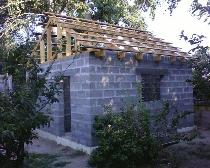 Технология строительства дома из керамзитобетонных блоков