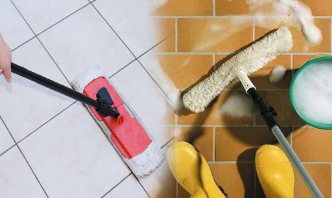 Средства для чистки кафеля от налета, грязи