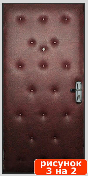 Обивка двери дерматином пошагово собственноручно
