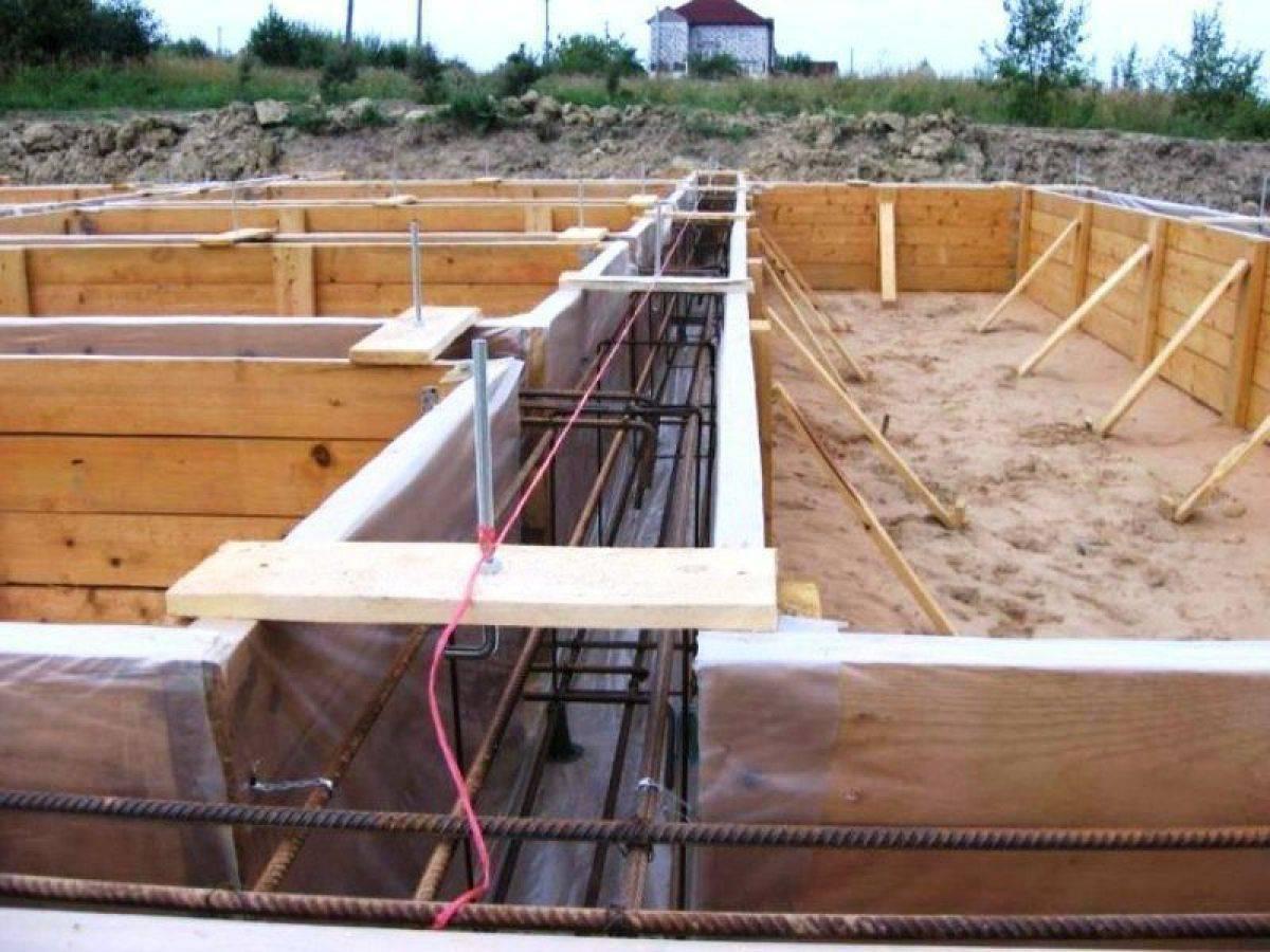 Как построить каркасный дом на свайном фундаменте