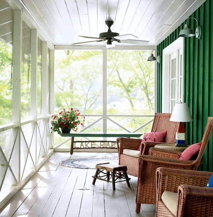 Как красиво сделать террасу примыкающую к дому