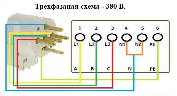 Самостоятельное подключение электроплиты к сети 220 В, 380 В