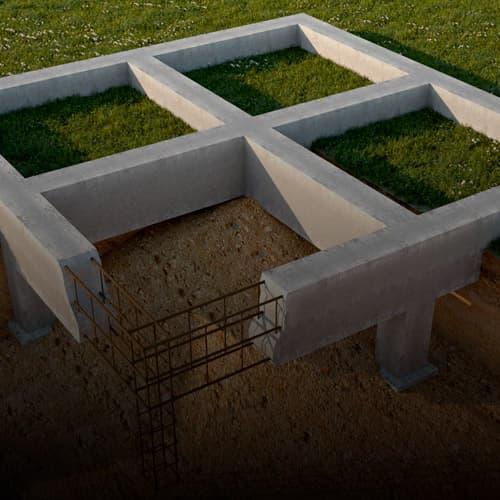 Выбор фундамента под брусовой дом своими руками