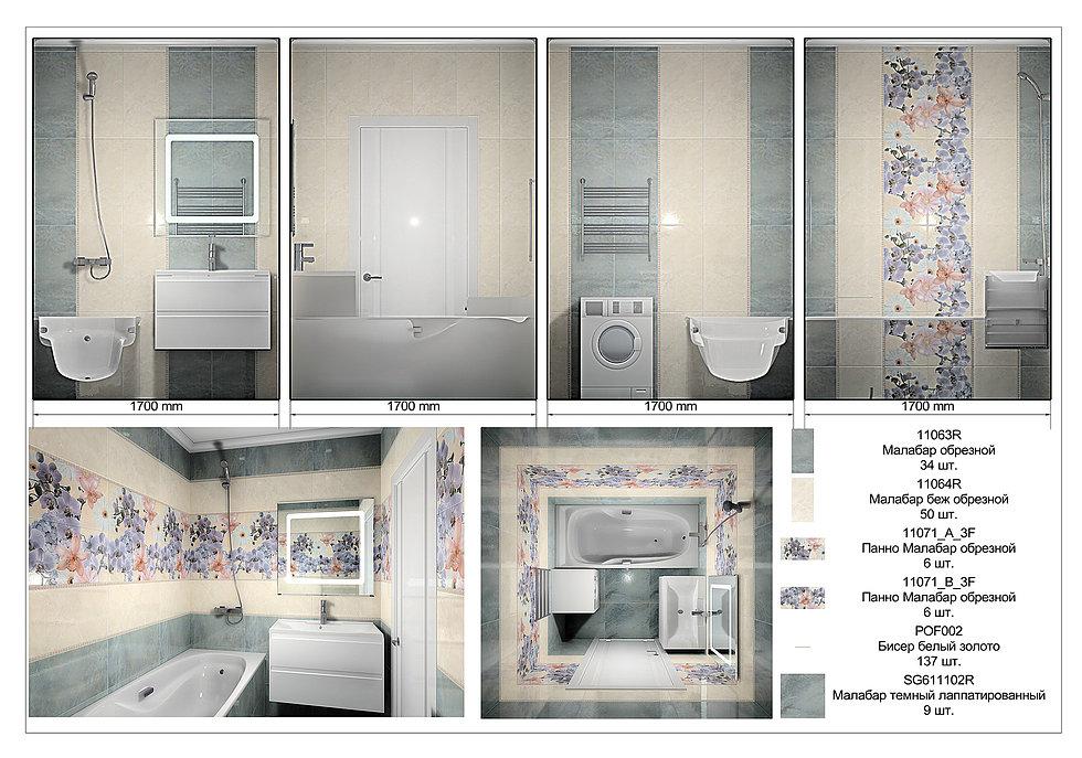 Кафель для ванной: как выбрать на пол, стены