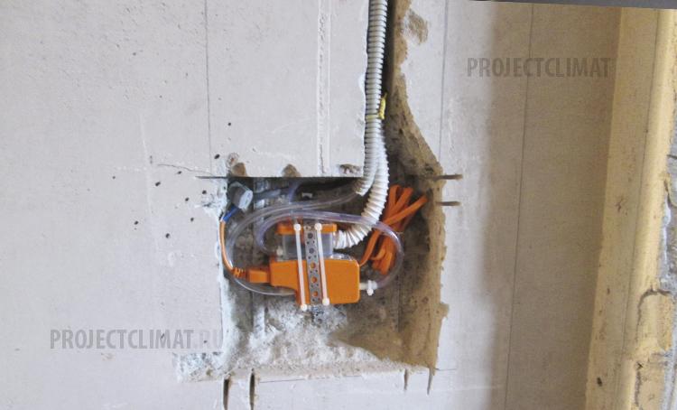Вакуумный дренажный насос для кондиционеров для отвода конденсата