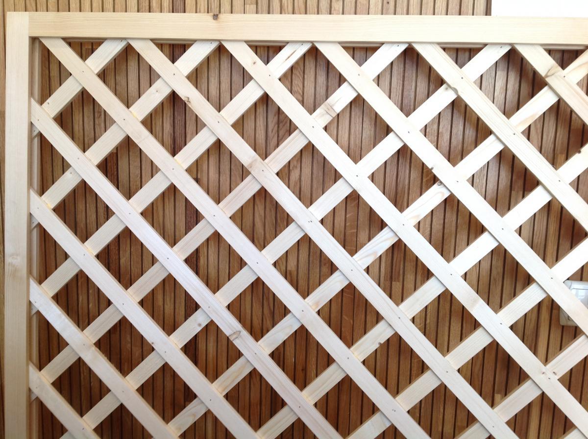 Как сделать деревянную решетку для беседки своими руками