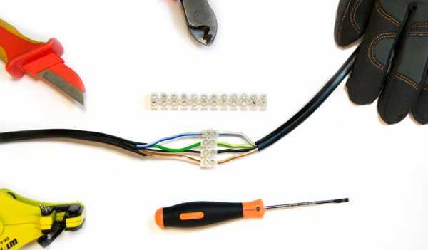 Соединители электрических проводов — виды и способы