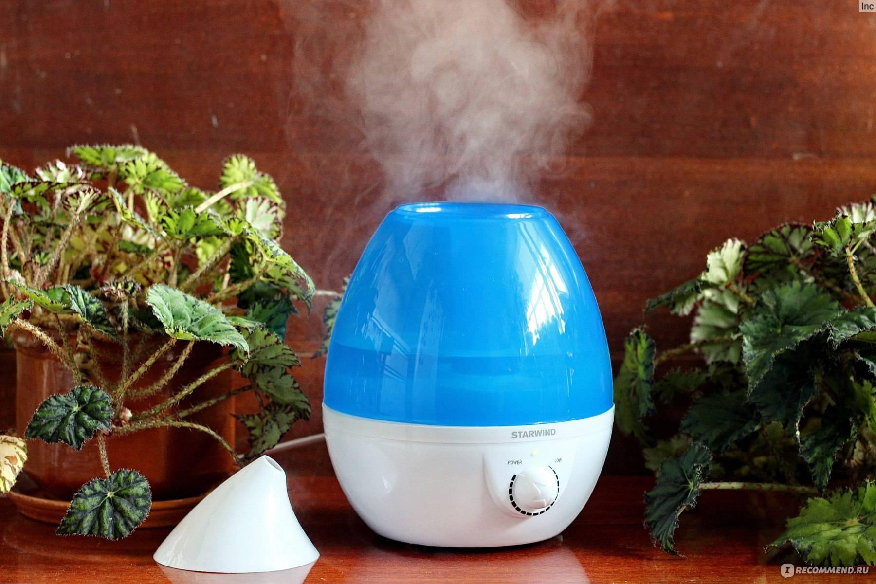 Чистка увлажнителя воздуха от накипи и плесени в домашних условиях