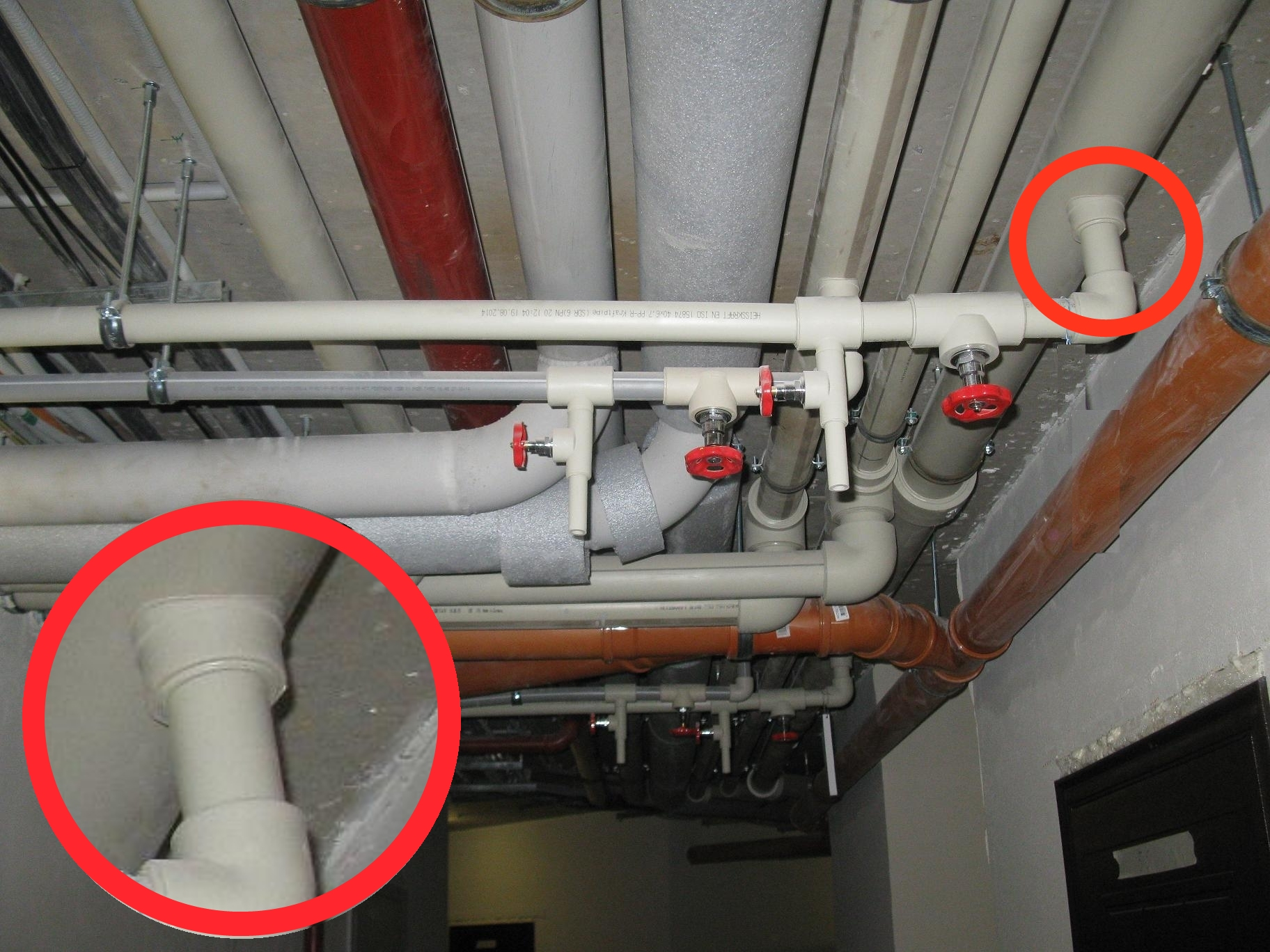 Как врезаться в пластиковую канализационную трубу