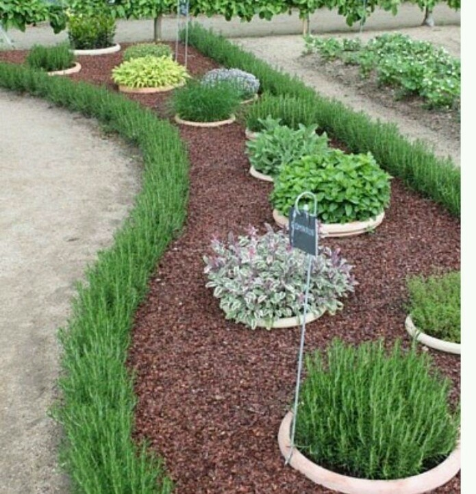 Садовая бордюрная лента для грядок, газонов, клумб