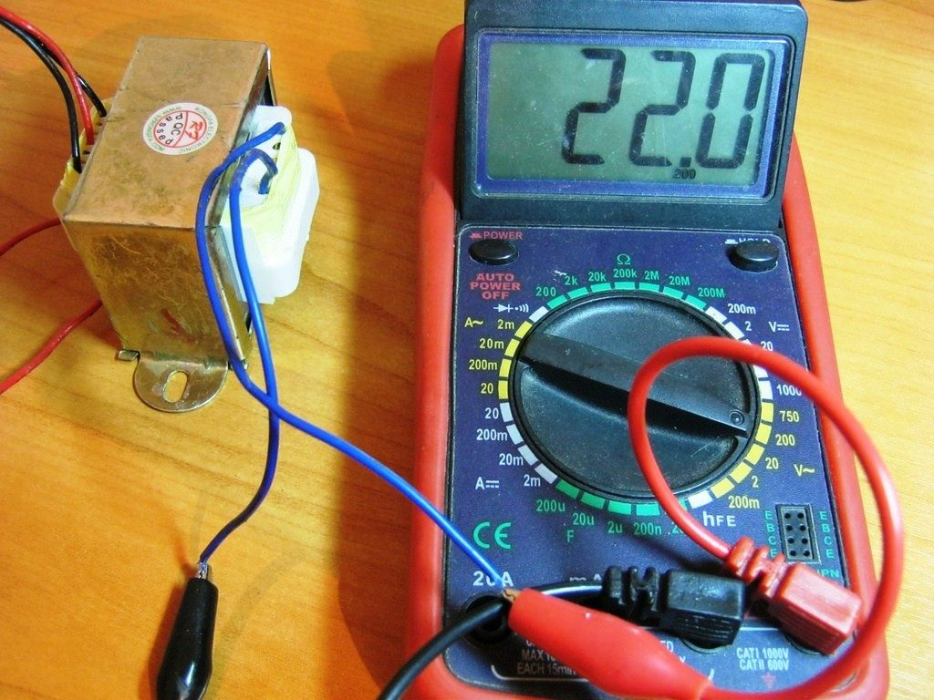 Измерение силы электрического тока мультиметром