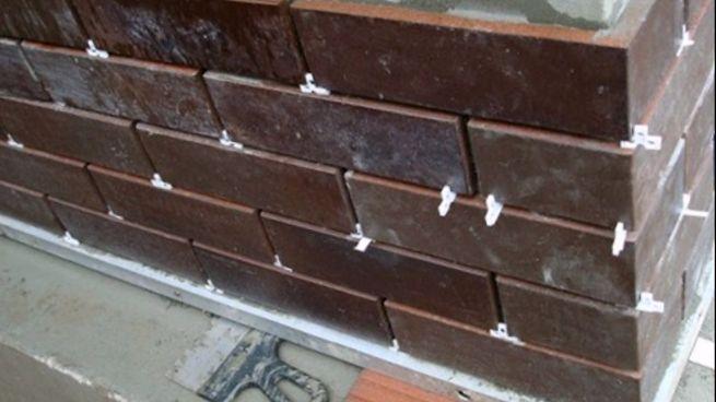 Облицовка цоколя керамической плиткой своими руками