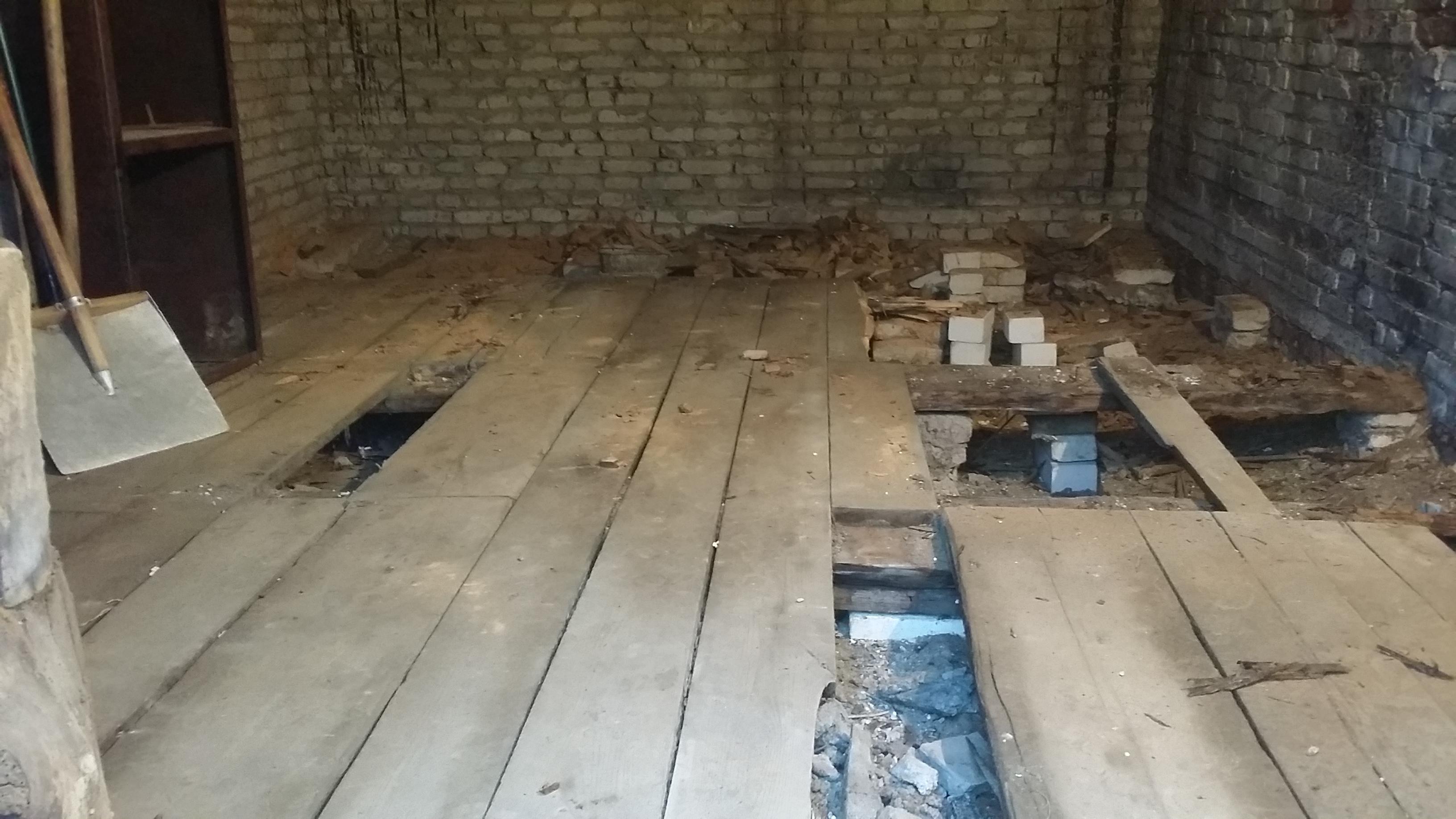 Как самостоятельно сделать деревянный настил пола в гараже