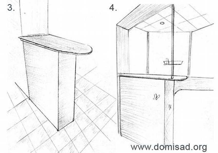 Как сделать барную стойку в кухне своими руками