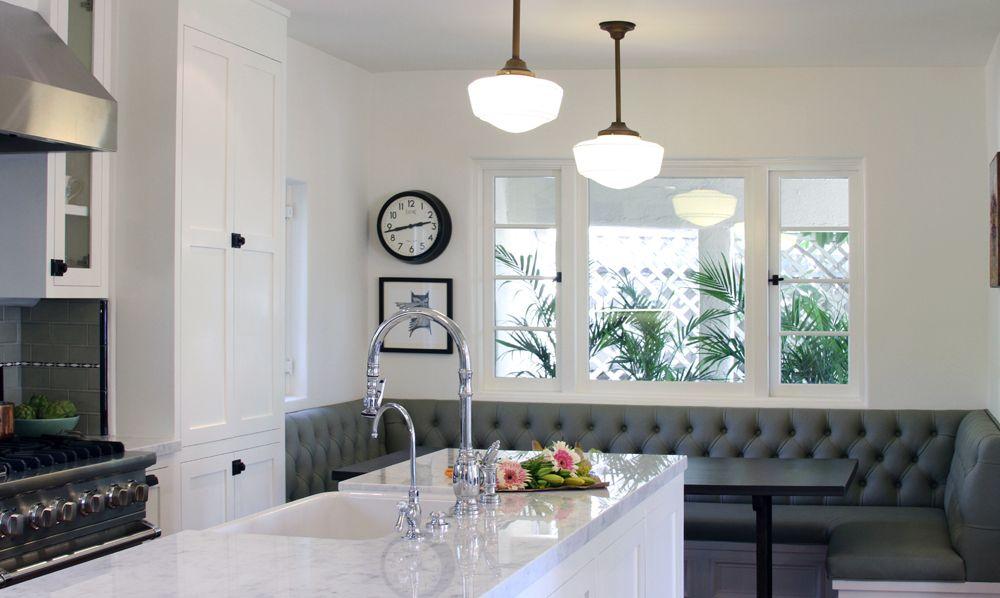 Интерьер кухни с эркером — идеи дизайна