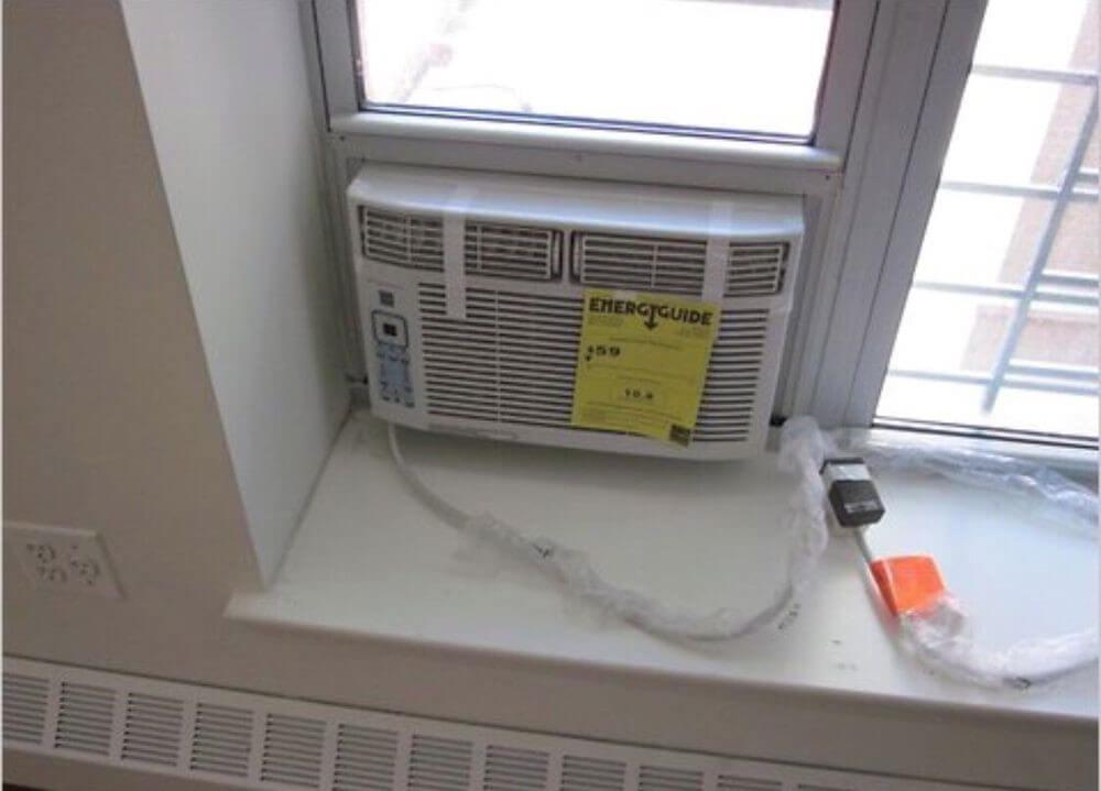Пластиковые окна и балконы под кондиционер